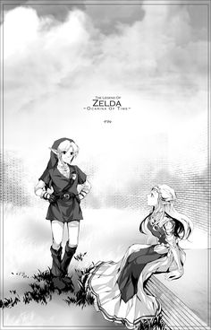 /Ocarina of Time/#1158087 - Zerochan | The Legend of Zelda: Ocarina of Time, Link and Princess Zelda / zelda, link2 by muse-kr on deviantART