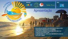 Bota para girar!, por Fernanda Cubiaco: Movimento Praia Viva com muita Educação Ambiental
