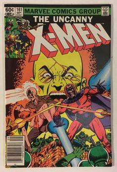 The Uncanny X-Men #161 Origin of Magneto VF/NM 9.0 - Chris Claremont Marvel Comics 1982 Bronze Age