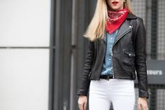 The best unintentional red, white, and blue street style moments—for any time you want to show your patriotism.