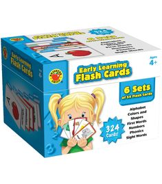 Early Learning Flash Cards Flash Cards - Carson Dellosa Publishing Education Supplies