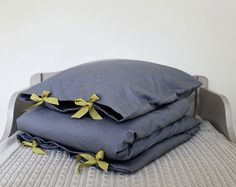 duvet covers with ribbon ties