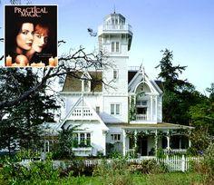 Casa victoriana de la película Prácticamente magia