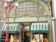 Patisserie in Clermont Ferrand, Auvergne, France