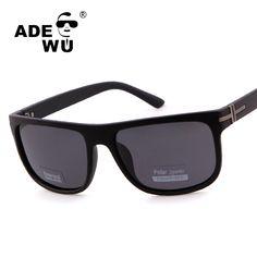 9cef9a38bc07 ADE WU Polarized Sunglasses Men Brand Designer Spied Tom Style Sun Glasses  For Driving Men's sunglasses high quality polarized