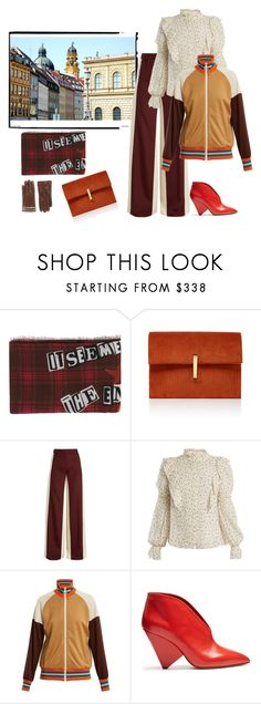 """""""Soooo Munich- the style of my hometown. As punk as it gets"""" by juliabachmann ❤ liked on Polyvore featuring Valentino, Rebecca Taylor, Gucci and Isabel Marant"""