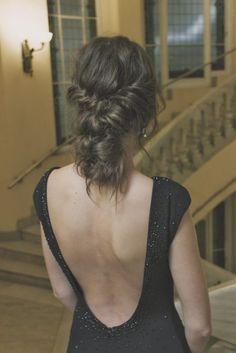 peinado recogido pelo torzado