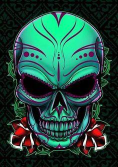 ♥ Cool Skull ♥
