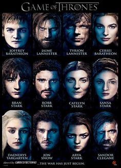 Game of Thrones Cast - MTG - Sleeves