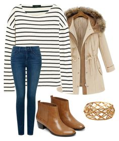 """""""Thanks giving option #2"""" by rachmandz ❤ liked on Polyvore featuring J.Crew, NYDJ and Warehouse"""