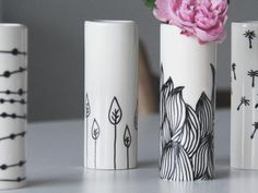 024 Vaser med mønstre