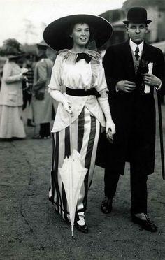 Moda na Belle Époque, 1914.