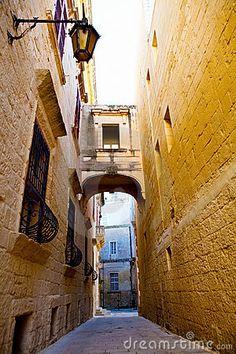 Medina. The old capital of Malta.
