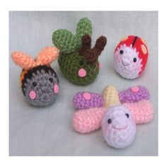 Crochet Pattern  Close to nature Bugs by seaandlighthouse on Etsy, $3.50
