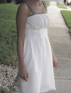 Pretty Pleated Dress | AllFreeSewing.com