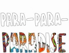 Paradise by Coldplay. One of my new favorite songs & where I wish I was.