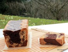 Cake noisettine & chocolat marbré - recette Conticcini par Mercotte