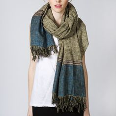 Mary Meyer Clothing - Hand Woven Scarf