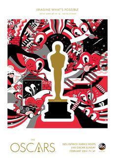 "Oscars 2015 ""Imagine What's Possible"" Artist Series: Hattie Stewart, United Kingdom"