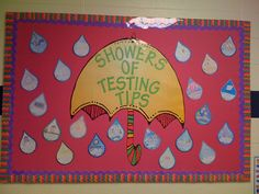 Showers of Testing Tips