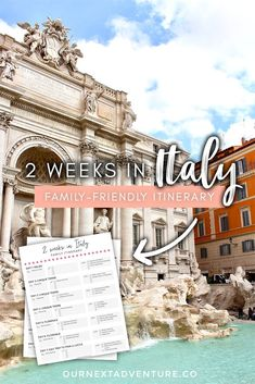 Italy with Kids! Click to get our 2 week pre-planned family-friendly itinerary, plus printable day-by-day guide! #italy #italywithkids #italyfamilytravel #familytravel #travelwithkids // Travel with Kids | Italy Family Travel | Top Cities in Italy | Where to Go in Italy | Where to Eat | Kid-Friendly Activities | Where to Stay | Best Neighborhoods | Renting a Car | Train Travel | Top Things to See | Best Places in Italy | Printable Itinerary | Florence | Rome | Cinque Terre | Milan | Orvieto