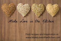 Find recipes and inspiration at: www.makeloveinthekitchen.com