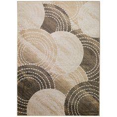 Hnedo-béžový koberec MOMA Belga, 140×200cm