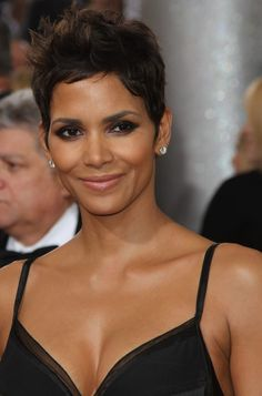 98 Best Halle Berry Very Short Haircuts - - Halle Berry Short Hair, Halle Berry Pixie, Halle Berry Style, Halle Berry Hot, Halle Berry Hairstyles, Pixie Hairstyles, Pixie Haircut, Celebrity Hairstyles, Short Hair Cuts