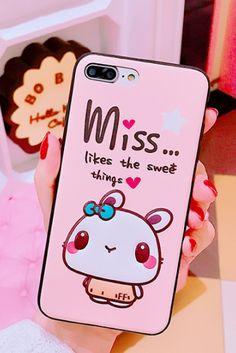 Cute Cartoon iphone 6, iphone 6 plus, iphone 7 & iphone 7 plus protective Case For girl