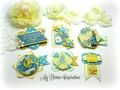 Authentique Felicity Paper Embellishments and Paper Flowers for Scrapbook Layouts Cards Mini Albums Planners Journals Tags and Paper Crafts by mydivineinspiration on Etsy