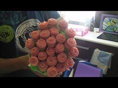 RAMO DE ROSAS CON CHUCHES (gominolas) (Branch of roses chuches) - YouTube