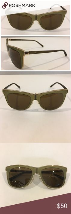 Authentic VALENTINO sunglasses, scratched lens Authentic VALENTINO square frame  sunglasses. Model V109S, made in Italy. Frames are in very gently worn preowned condition EXCEPT for large scratches across the lens (see listing images). See listing for authenticity markings & measurements. No case. Please ask questions and acknowledge condition prior to purchase. Lens cannot be replaced, sold as is. 🚫trades, reasonable offers only. Valentino Accessories Sunglasses