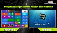 Comparative Analysis between #Windows8 and #Windows7