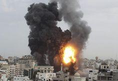 Gaza: 8 jours de tempête