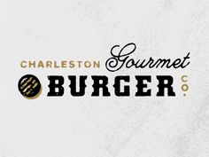 Charleston Gourmet Burger by J Fletcher Design