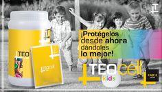 TEO CELL KIDS es un producto elaborado con ingredientes ricos en antioxidantes los que mejoran