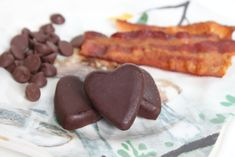Bacon Chocolate Hearts - this has my friend's name written all over it....