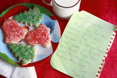 Leave a note from Santa.