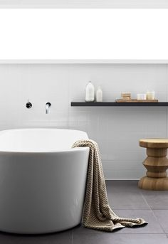 Laminex Aquapanel wet area panelling can provide the perfect solution for bathroom walls, laundry splashbacks and lining for showers. Bathroom Wall, Bathroom Ideas, Tiny House Movement, Panelling, Bathroom Interior Design, Bathroom Inspiration, Home Renovation, Showers, Home Goods