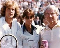 Robert Kennedy memorial tennis tournament, Merv Griffin master of ceremonies