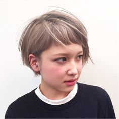 Haircut short choppy bangs 56 New ideas Medium Hair Cuts, Short Hair Cuts For Women, Cut My Hair, Her Hair, Shot Hair Styles, Long Hair Styles, Bob Hair Color, Asian Hair, Layered Hair
