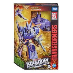 Beastify the battlefield with this Transformers War for Cybertron: Kingdom Voyager WFC-K9 Cyclonus Action Figure! Worlds collide when the Maximals and Predacons join the fight, coming together with the Autobots and Decepticons in an epic battle that will alter their destiny forever. Bone Armor, Fossil, Big Robots, Hasbro Transformers, Transformers Action Figures, Transformers Prime, Golden Discs, Power Rangers, How To Find Out