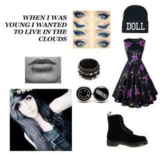 """""""PRP Sally"""" by dontforgetthesun2 ❤ liked on Polyvore featuring Chicnova Fashion, Valentino, Again and Dr. Martens"""