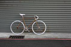 BIKEID Track Copper Chrome