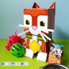 DIY paper craft activity kit. PHYSICAL by BoxEdsPaperCrafts