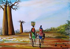 Baobab Road by Kelvin Malack of Kenya