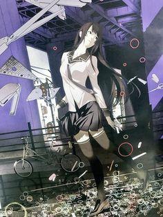 戦場ヶ原ひたぎ Anime Art Girl, Manga Art, Anime Manga, Character Art, Character Design, Monogatari Series, Nichijou, Female Anime, Anime Artwork
