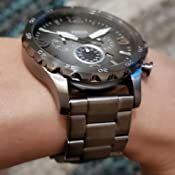 Black Models, Stainless Steel Case, Chronograph, Fossil, Quartz, Watches, Modern, Accessories, Trendy Tree