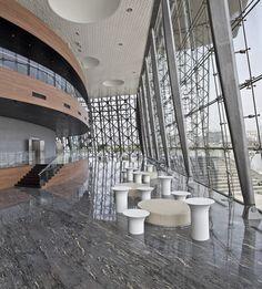 Wuxi Grand Theatre, Wuxi China (2012) | PES-Architects