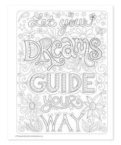 Good Vibes Coloring Book For The Top Adult Books And